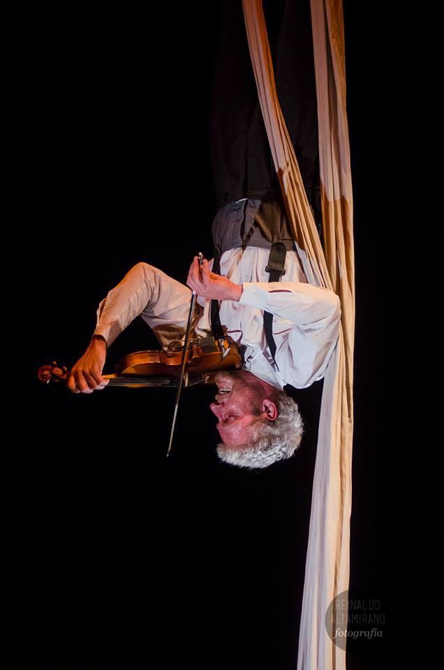 Luis Musetti, artista del riesgo