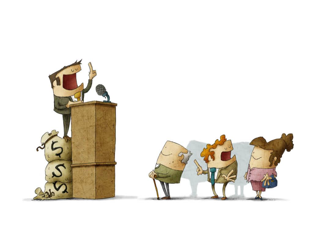Dinero y elecciones: una difícil combinación