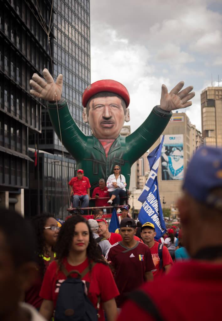 Contra la intervención en Venezuela
