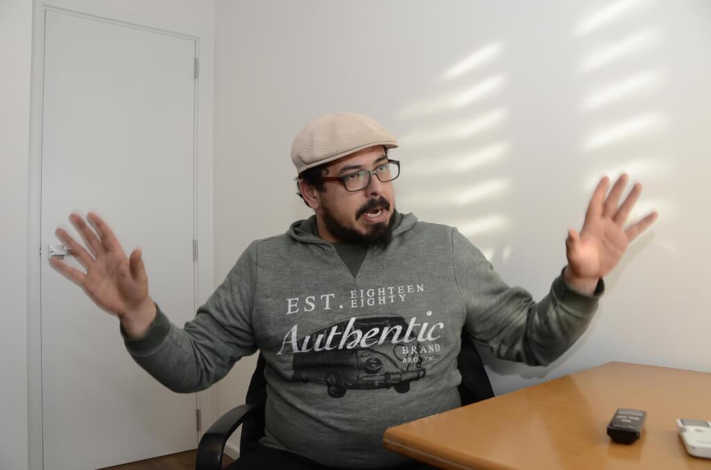 """Alejandro """"Pacha"""" Sánchez:  La principal renovación de la izquierda es pelear contra la superficialidad de la sociedad"""