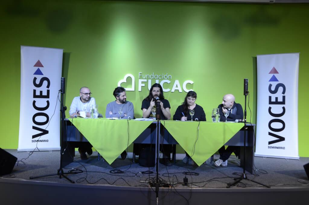 Dramaturgia uruguaya del siglo XXI: Hambre de escribir con Gustavo Bouzas, Gabriel Calderón, Jimena Márquez y Santiago Sanguinetti