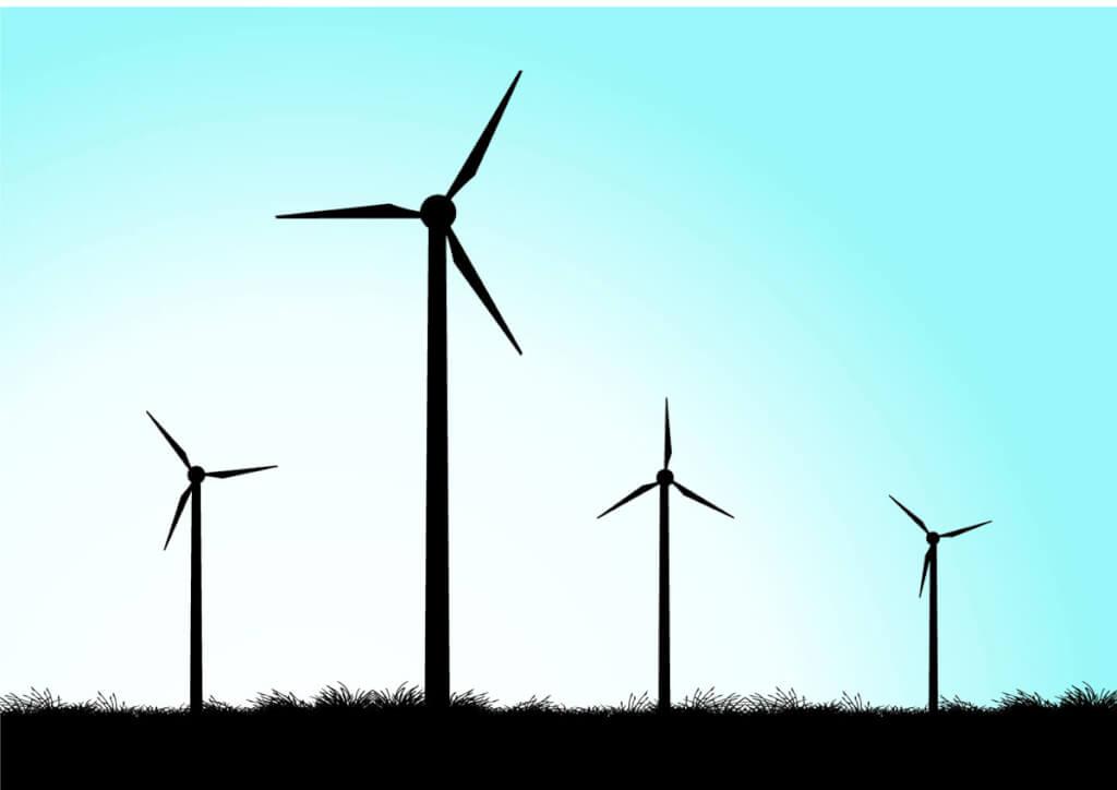 Los molinos de viento de UTE   por William Yohai