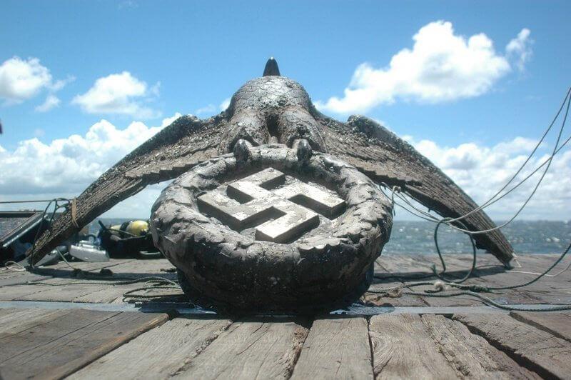 El águila nazi del Graf Spee  por Ernesto Kreimerman