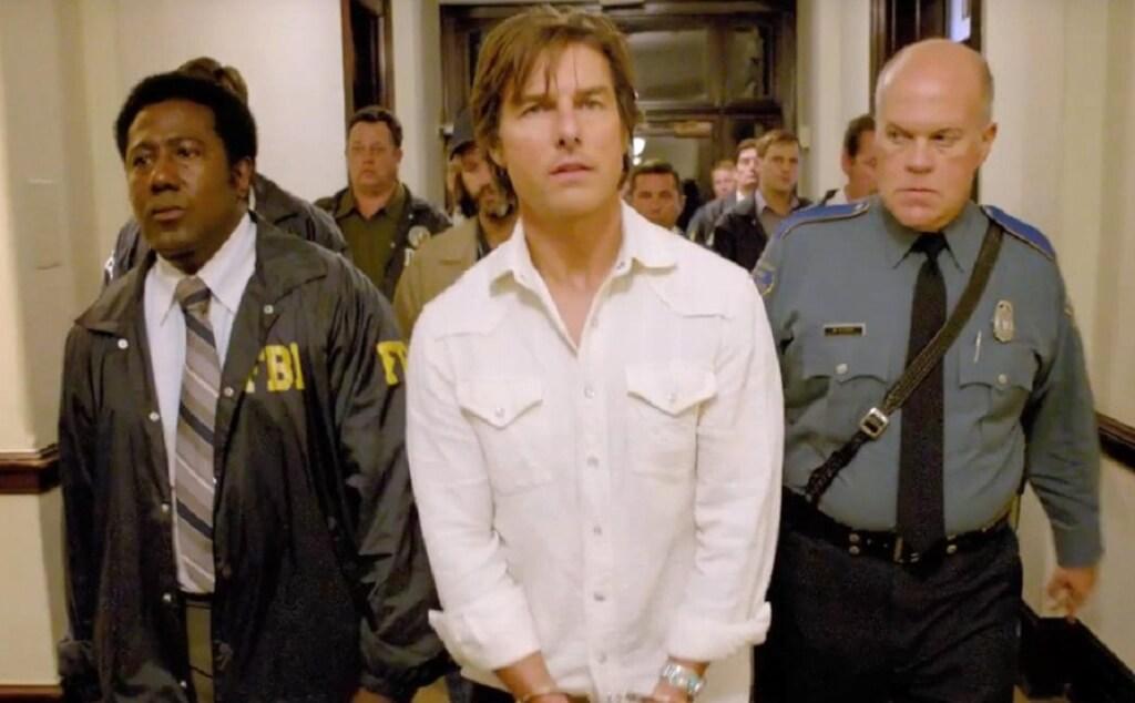 Tom Cruise con fuerte tono ideológico