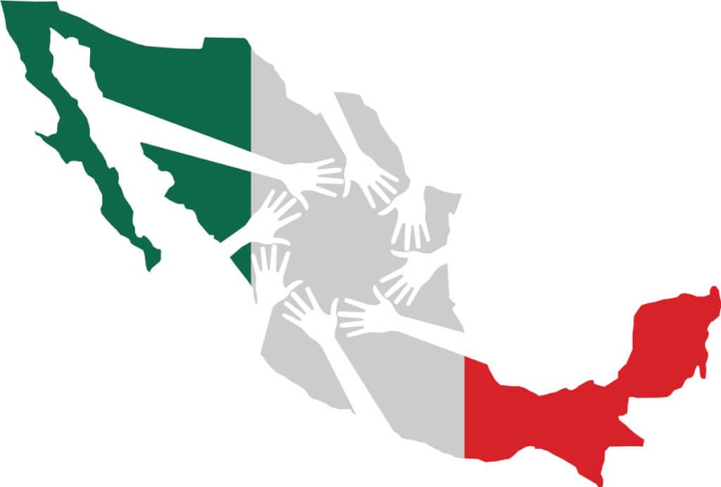 México, el del pueblo solidario  por  Ruben Montedónico
