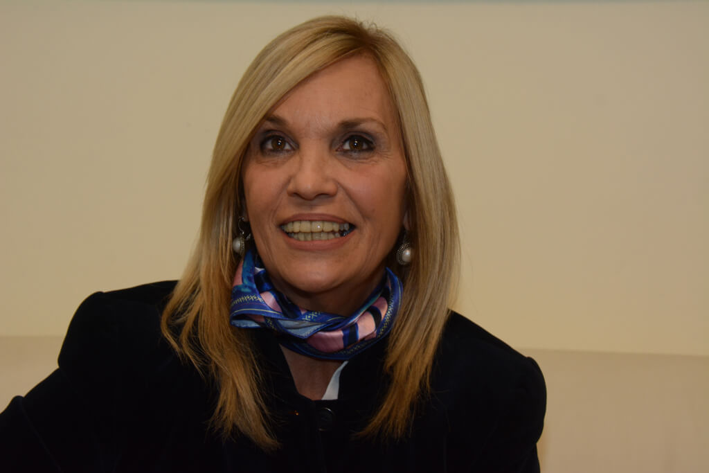 """BEATRIZ ARGIMÓN, Presidenta del Directorio del Partido Nacional  """"No creo que la sociedad uruguaya tenga una fractura que no se pueda solucionar."""""""