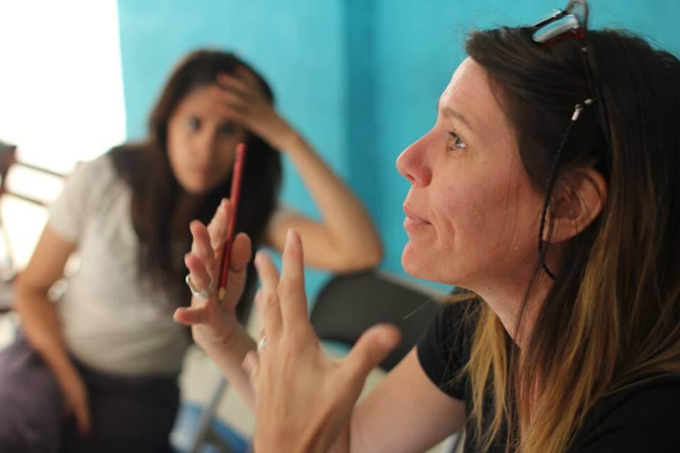 Escena no actuada: entrevista a Cecilia Caballero