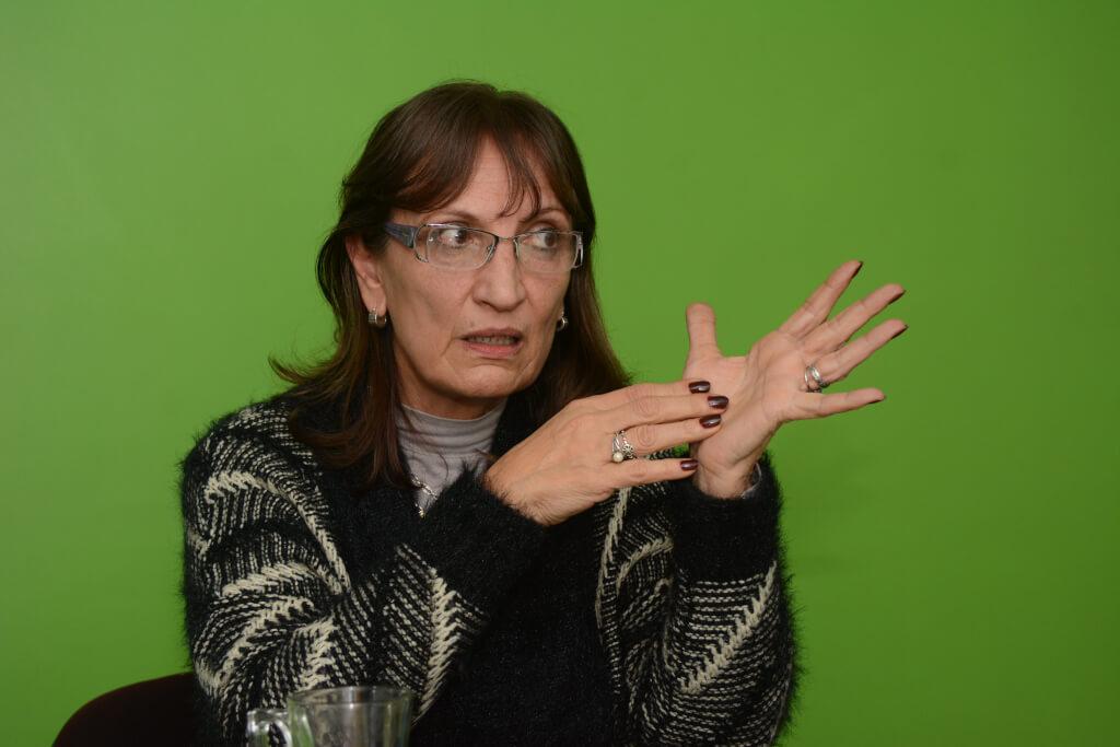 Adriana Berezán, presidente de la Asociación de Defensores de Oficio:  Los defensores públicos atendemos a los pobres y a los chorros