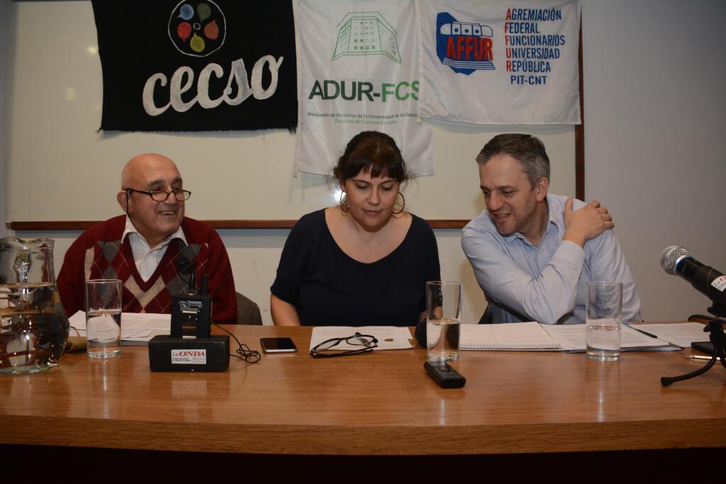 La Universidad en debate:  Markarian versus Arim