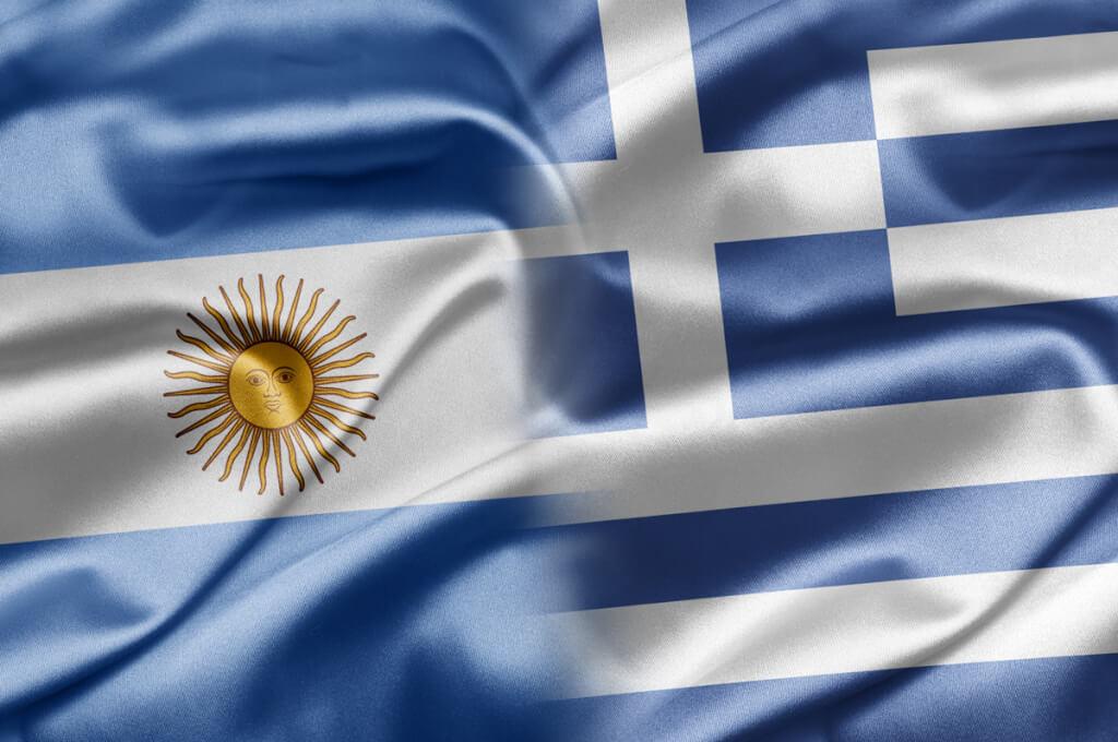 Grecia y Argentina agrandan sus crisiscon préstamos  por Ruben Montedónico