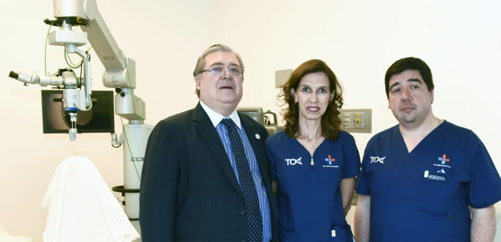Cirugías láser, sin bisturí, para patologías de visión en la Asociación Española