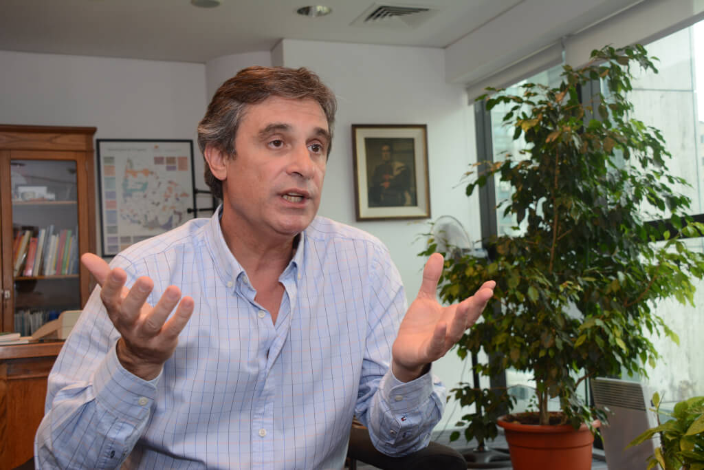 """Álvaro García, Director de la OPP  """"¿Cuánta gente conocés que era de izquierda hasta que apareció el IRPF?"""""""