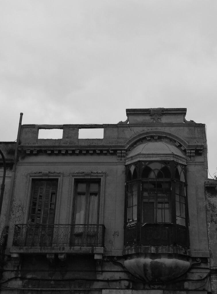 El balcón triste de la calle Agraciada