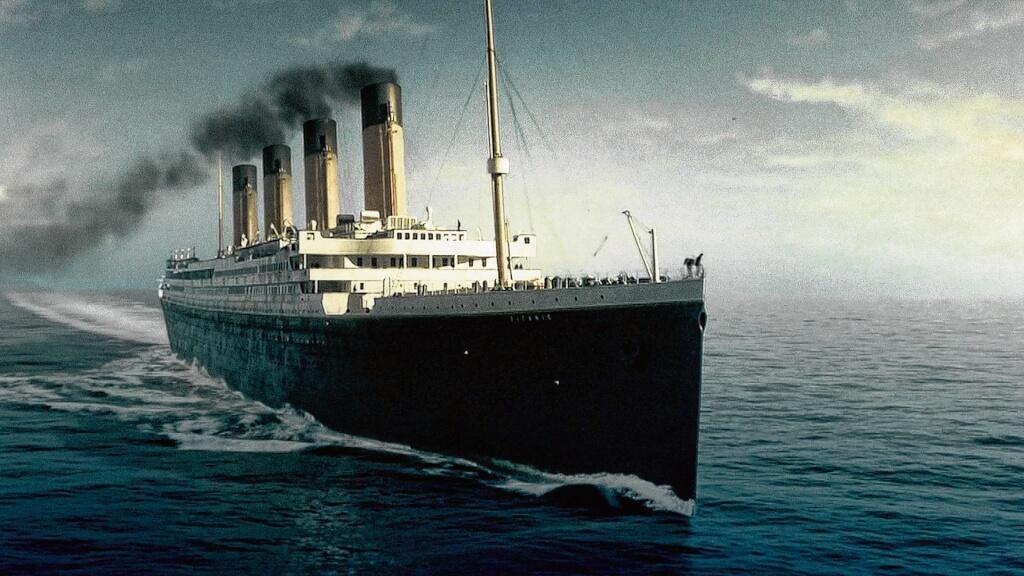 El mástil del Titanic por Luis Nieto