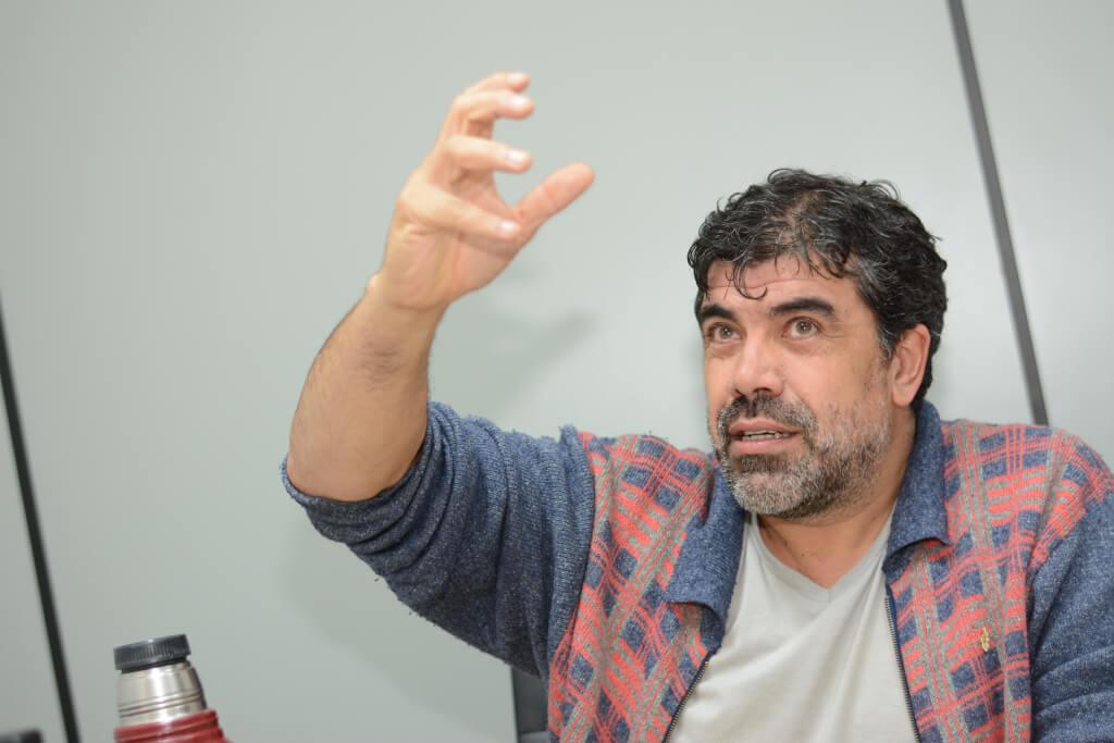 """Óscar Andrade: """"Si esperás la bendición de los sectores más poderosos, no vas a hacer nada"""""""