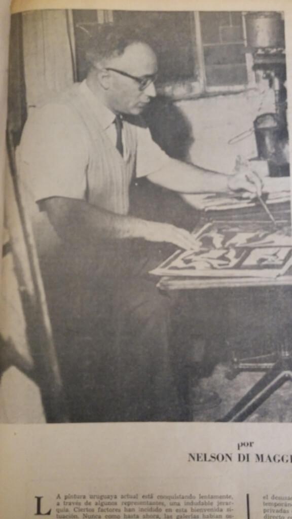 El pintor que predica por Nelson Di Maggio