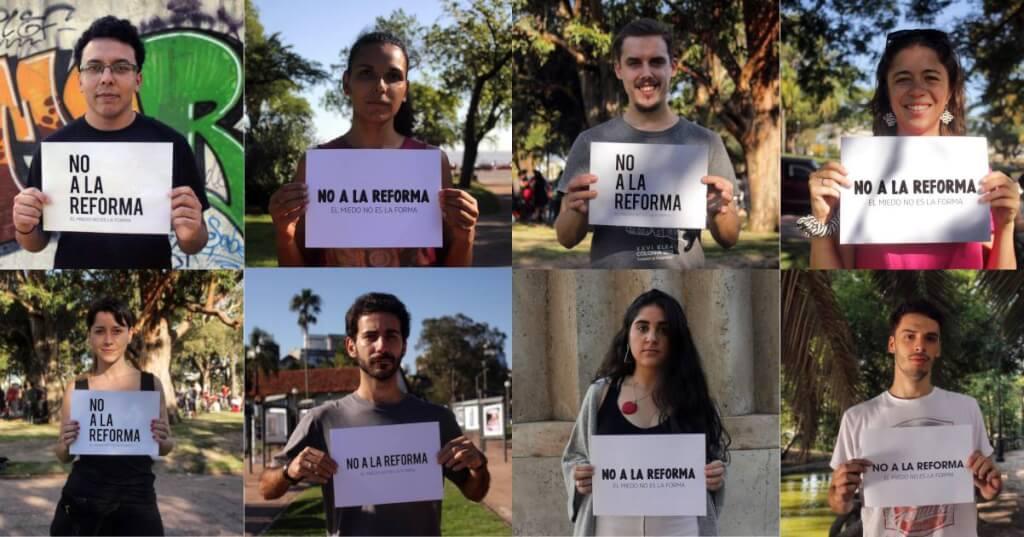 Para vivir sin miedo no votes la reforma por Ignacio Martínez