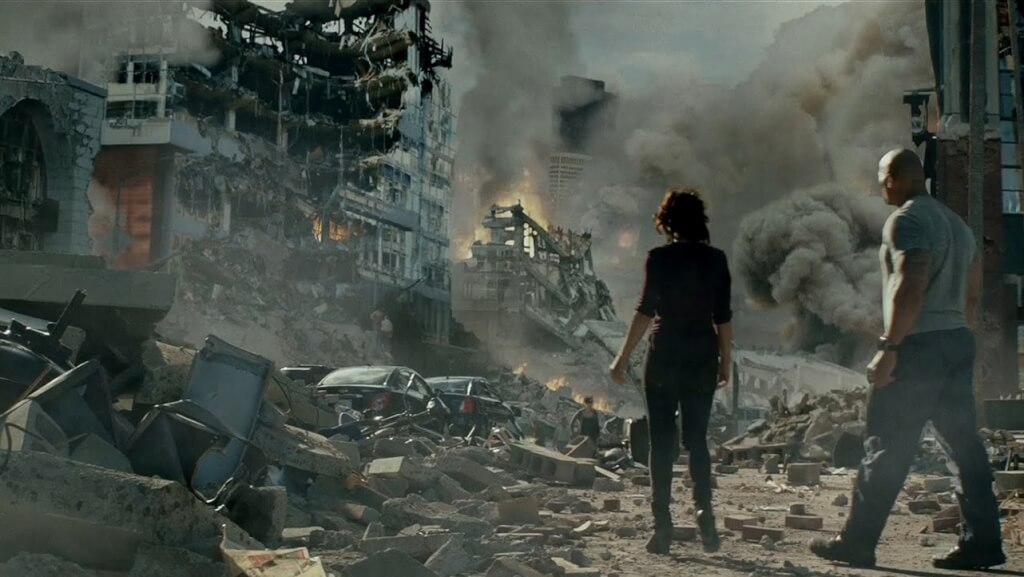 Y la tierra tembló: Un cine de terremotos.