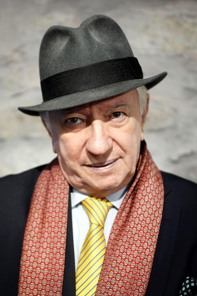 Ignacio Suárez:  Exacta mezcla de linyera y de bacán