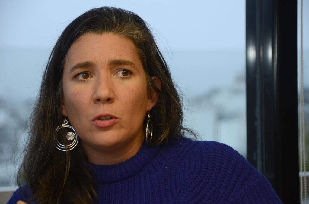 """Ana Laura Pérez, periodista  """"Tenemos que usar las  herramientas de los malos"""""""