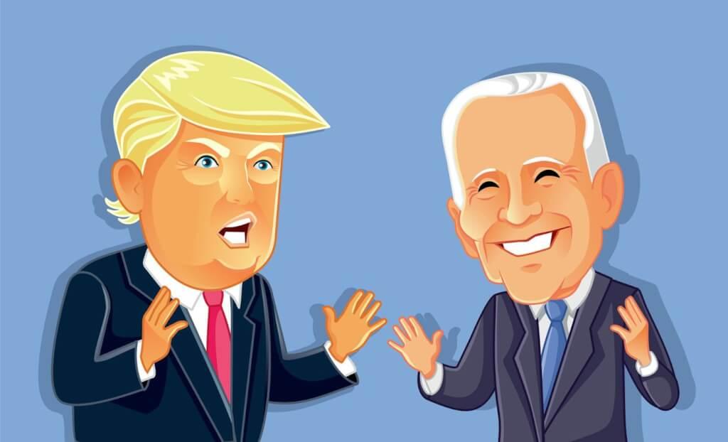 Trump o Biden por Ruben Montedonico