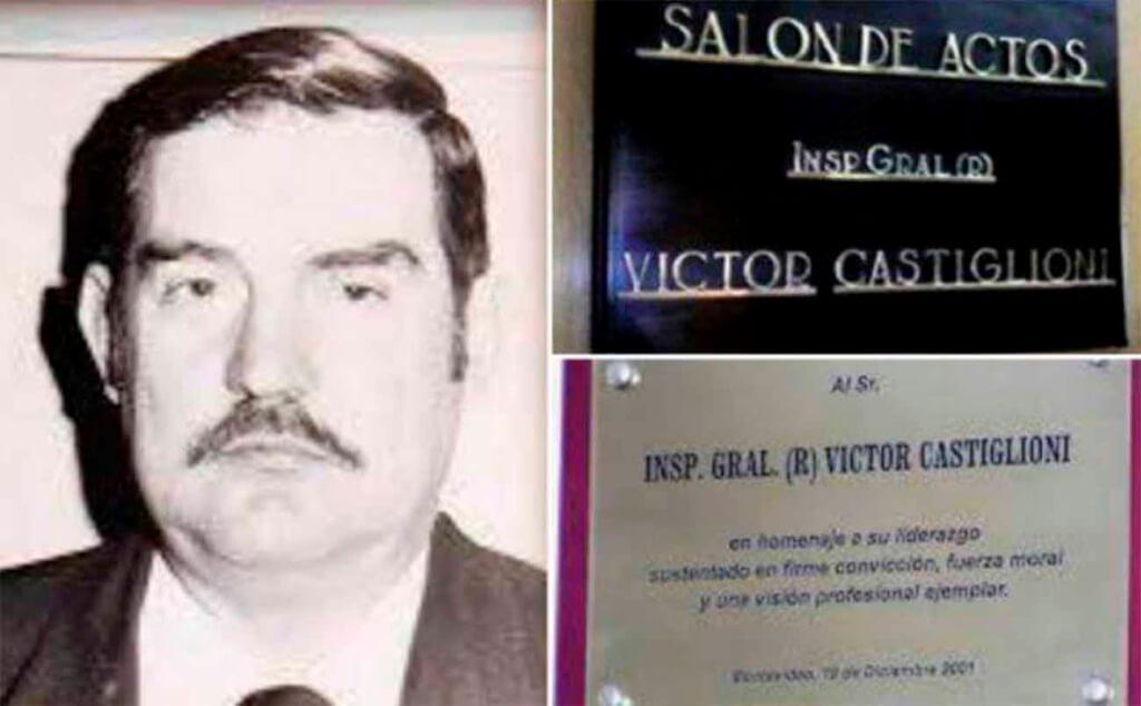 Escandaloso homenaje a un criminal por Hugo Acevedo