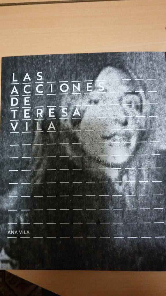 Teresa Vila en un libro original por Nelson Di Maggio