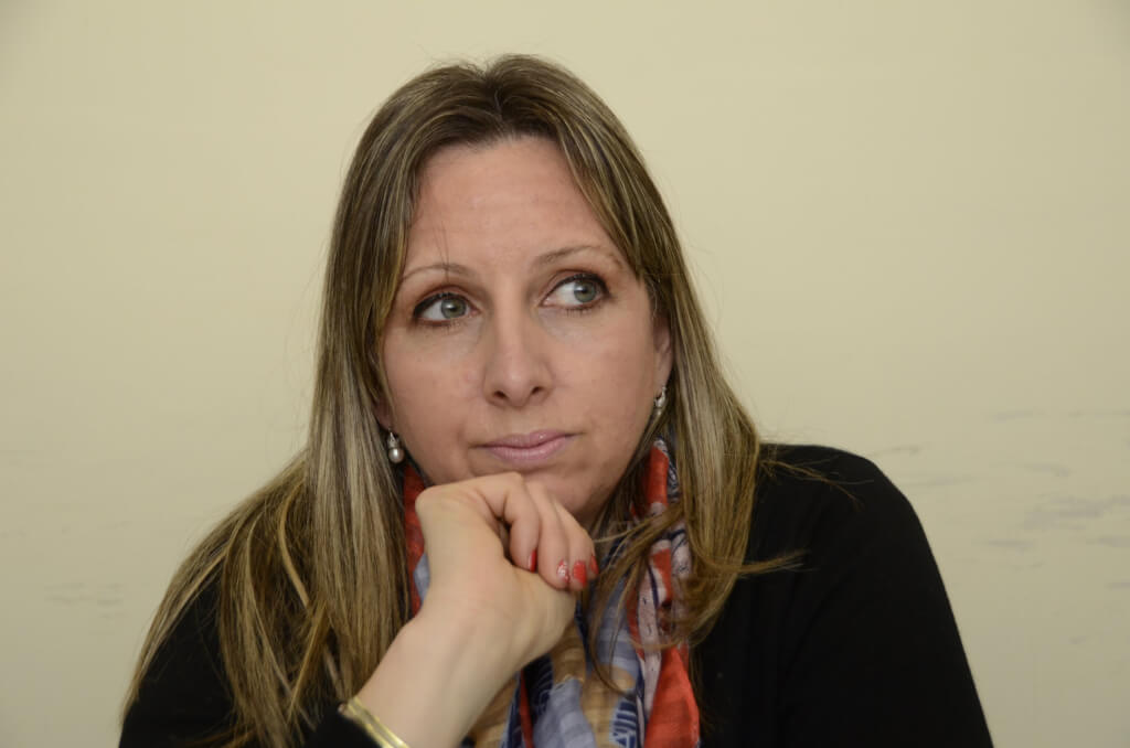 Patricia Rodríguez, Presidente del sindicato policial:  Nos dejaron sindicalizarnos, pero creo que después se arrepintieron un poco