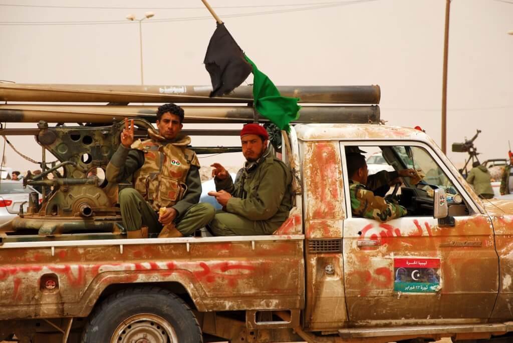 "Libia, herencia de la ""primavera""por Ruben Montedonico"