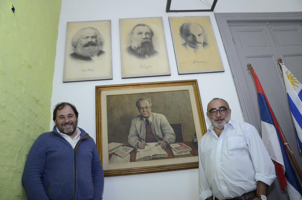 Juan Bernassa y Guillermo Reherman, dirigentes del Partido Comunista:  En este momento, más que nunca, somos necesarios