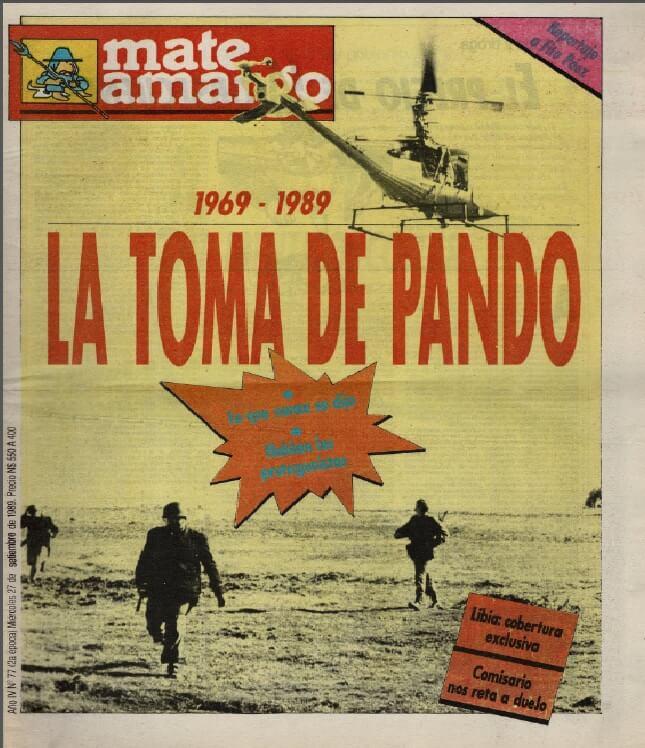 La mochila de Pando por Luis Nieto