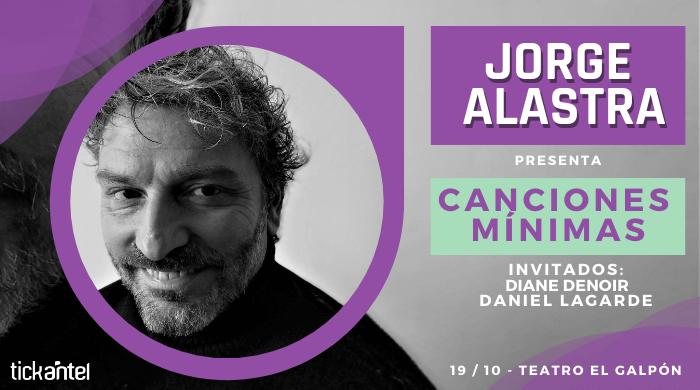"""Entrevista. Jorge Alastra     """"Admiro a los grandes artistas de aquí"""""""