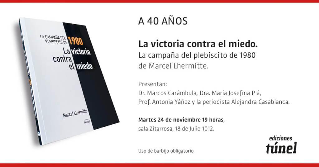 Lanzamiento del libro de Marcel Lhermitte: La victoria contra el miedo