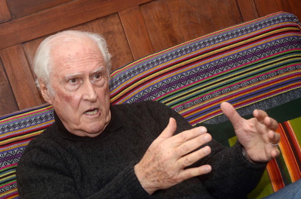 """Fernando «Pino» Solanas: """"Es una verdadera vergüenza decir que el gobierno de los Kirchner fue de izquierda"""""""