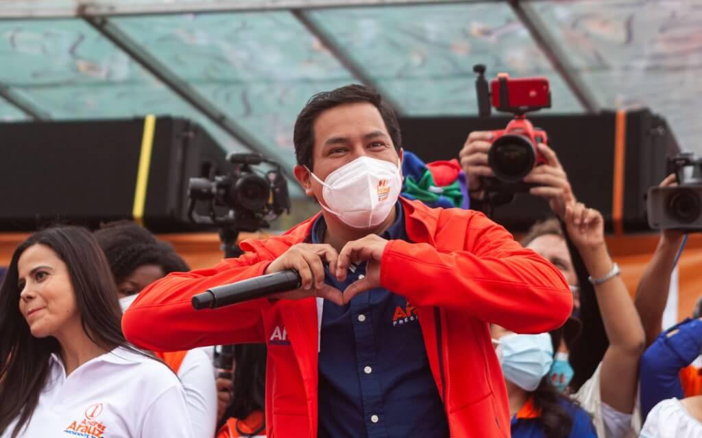 Arauz-Lasso al balotajeecuatoriano, por ahora por Ruben Montedonico
