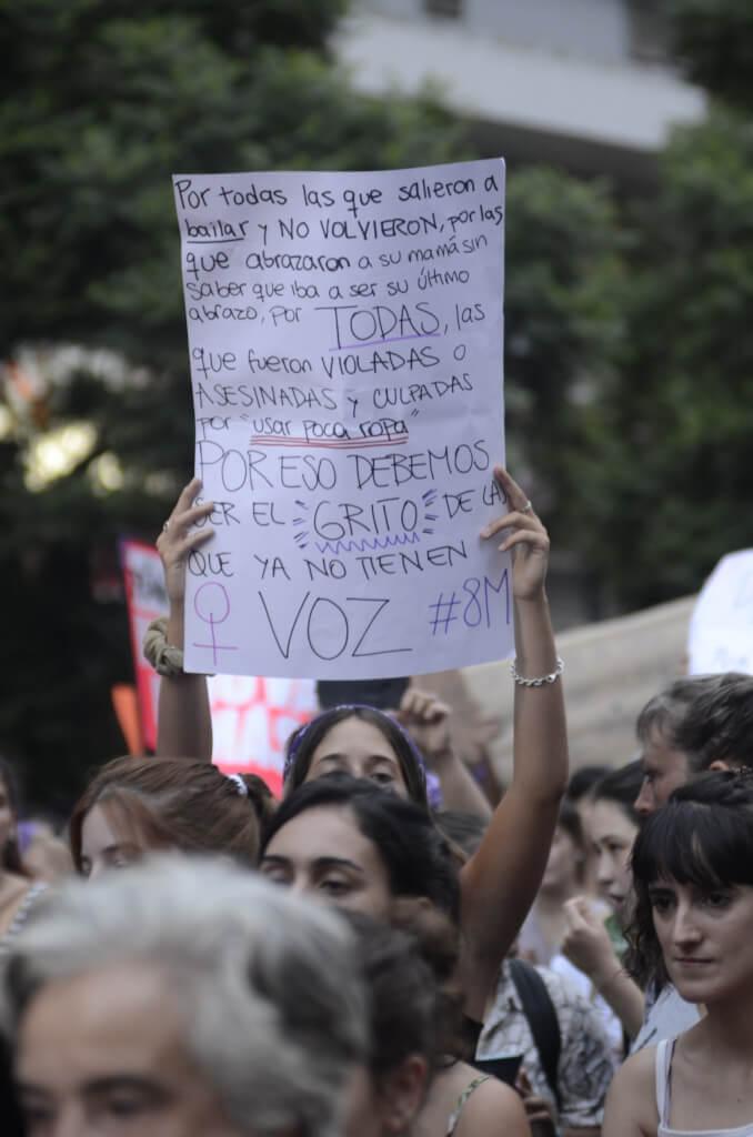 Pasó el 8  de marzo por Cristina Morán