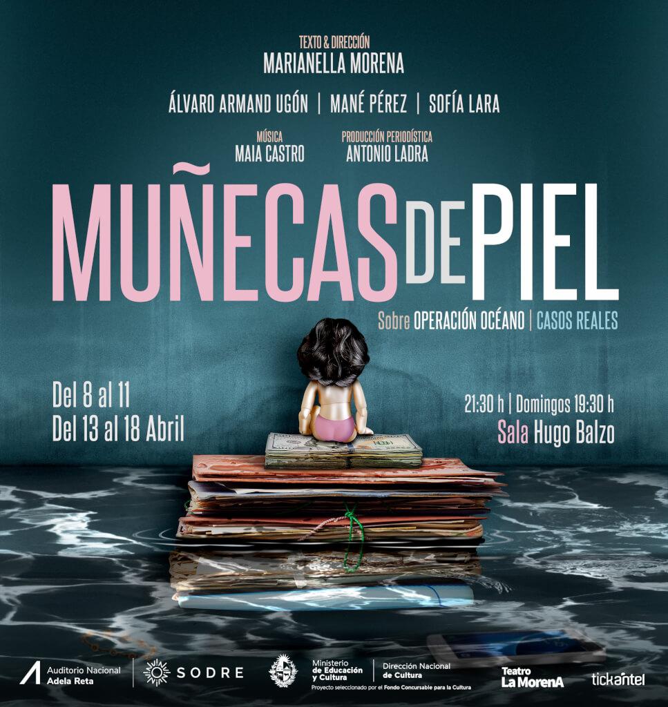 Muñecas de piel: próxima espectáculo de Marianella Morena