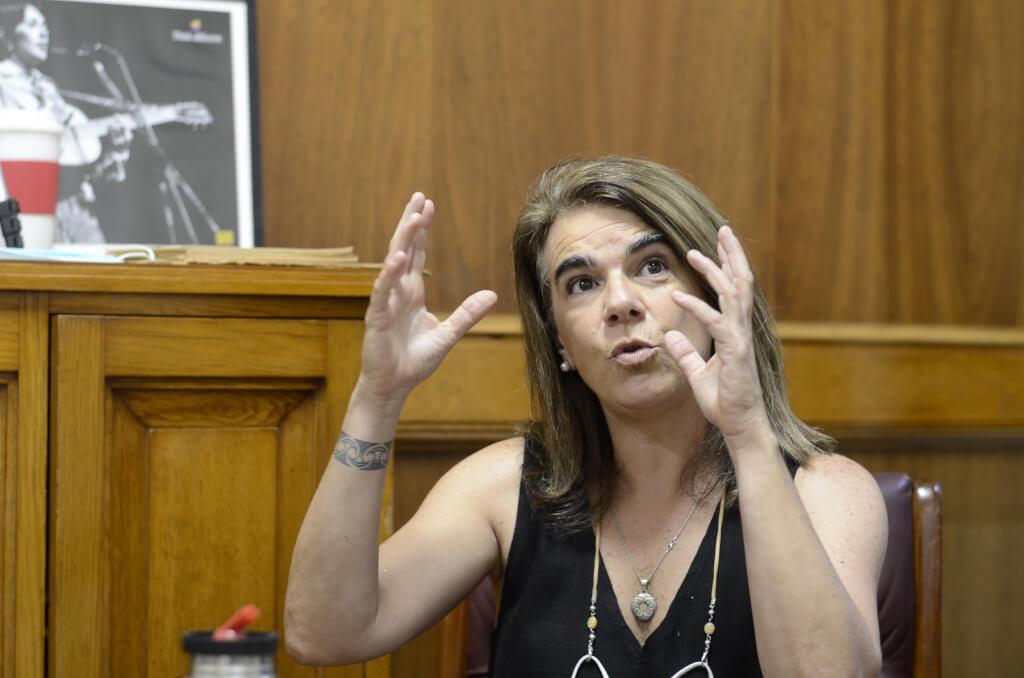 Silvia Nane, senadora del Frente Amplio  El Frente Amplio es mucho más que la dirigencia, que la bancada, que sus votantes o los comités.