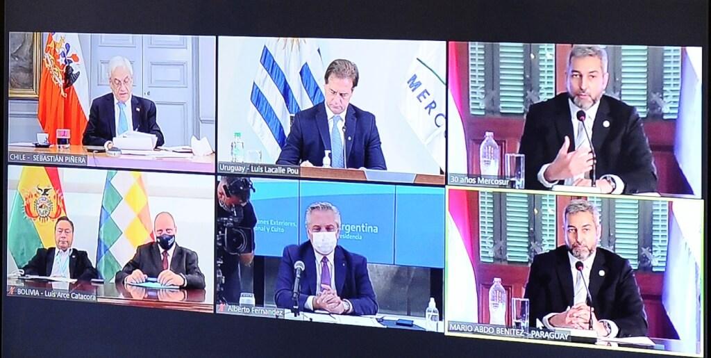 Mercosur de los disensos   por Ruben Montedonico