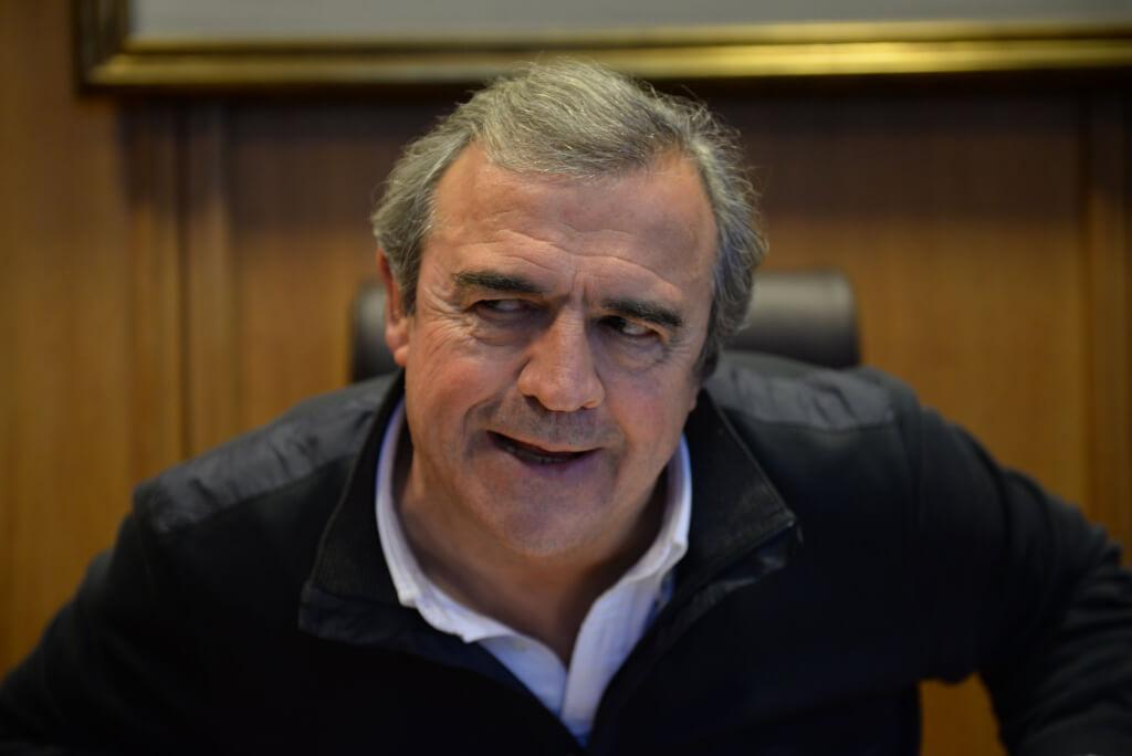 JORGE Larrañaga: No creo en un partido blanquicolorado, ni en las familias ideológicas.