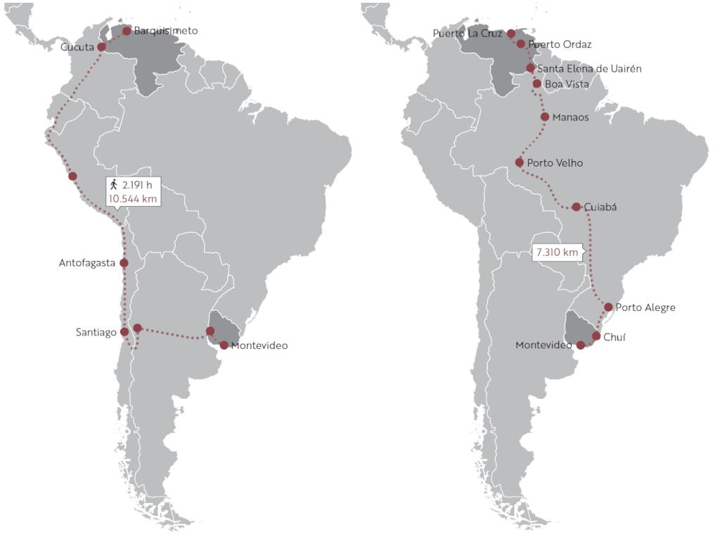 Carretera, montaña, ríos y selva: la travesía del migrante     Por Ángel Arellano