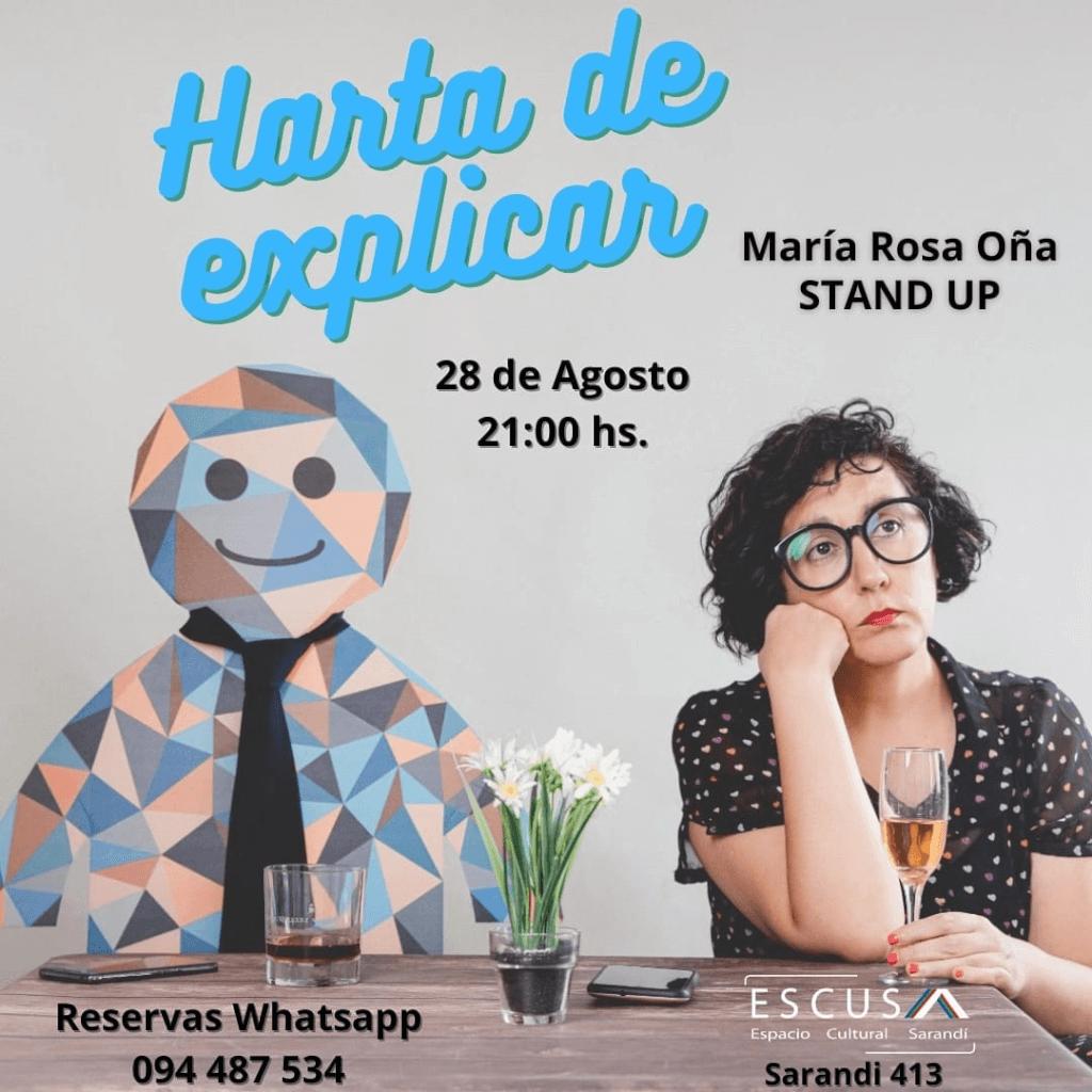 """Entrevista: María Rosa Oña: """"El camino del humor es larguísimo y estás continuamente aprendiendo y cambiando"""""""